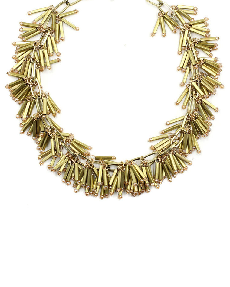 Shake It Off Fringe Strand Necklace