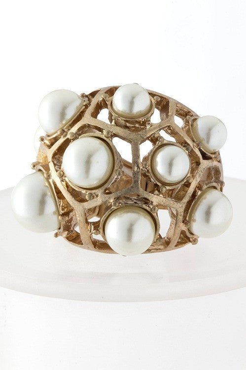 Pearl Dome Ring