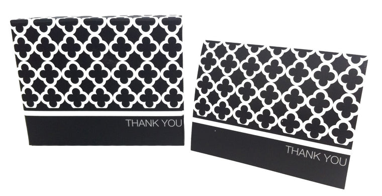 Quatre Foil Thank You Cards