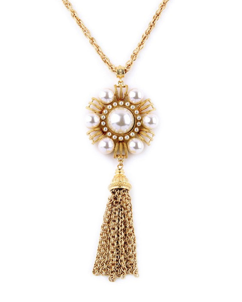 Polly Pearl Pendant Necklace