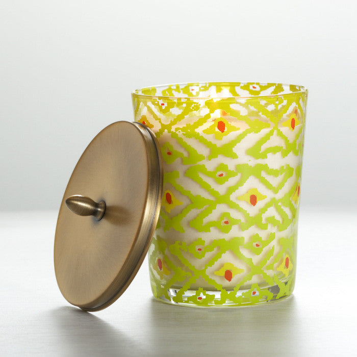 Pineapple Cilantro Boho Candle - Large