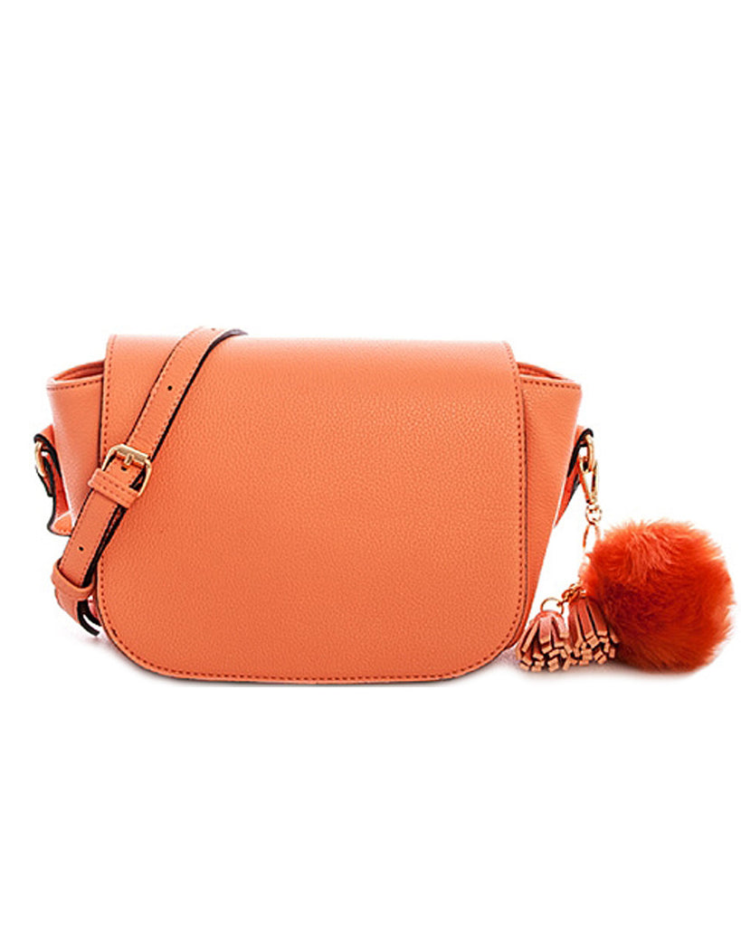 Pom Pom and Tassel Charm Saddlebag