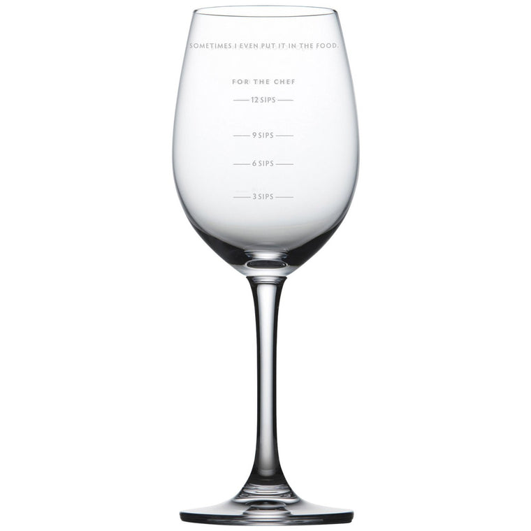 Sauced Measuring Wineglass