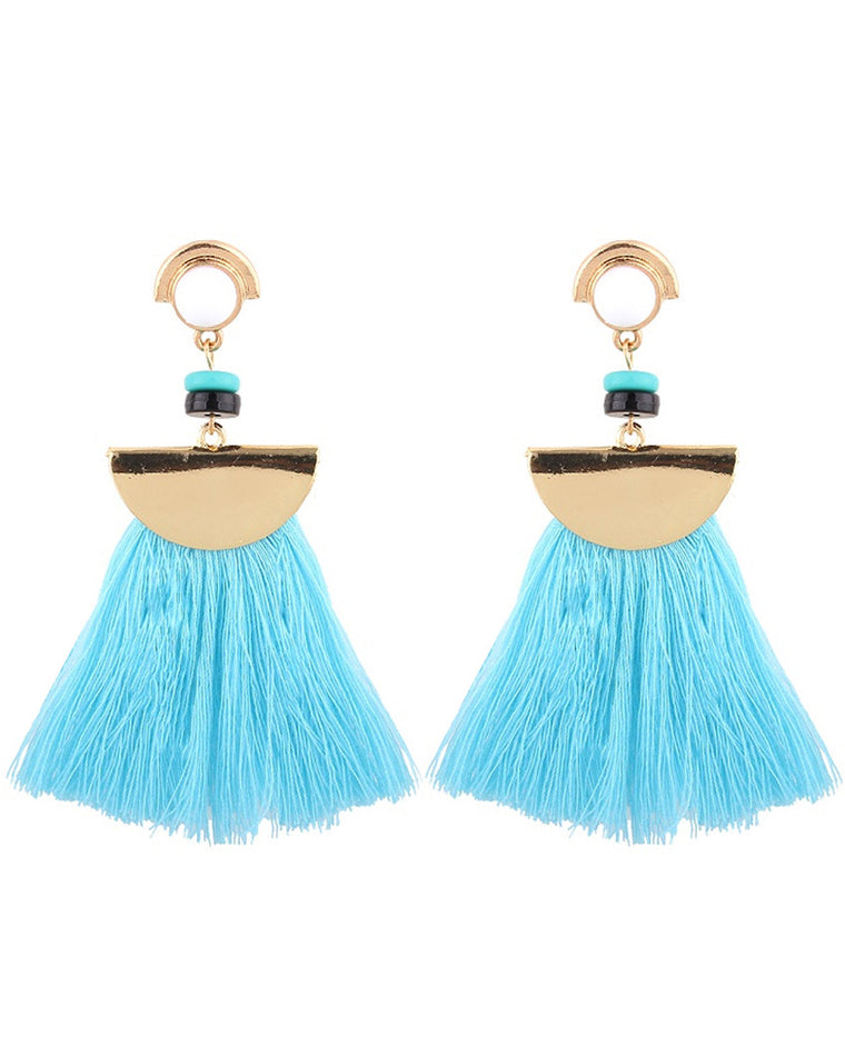 Rachelle Tassel Drop Earrings