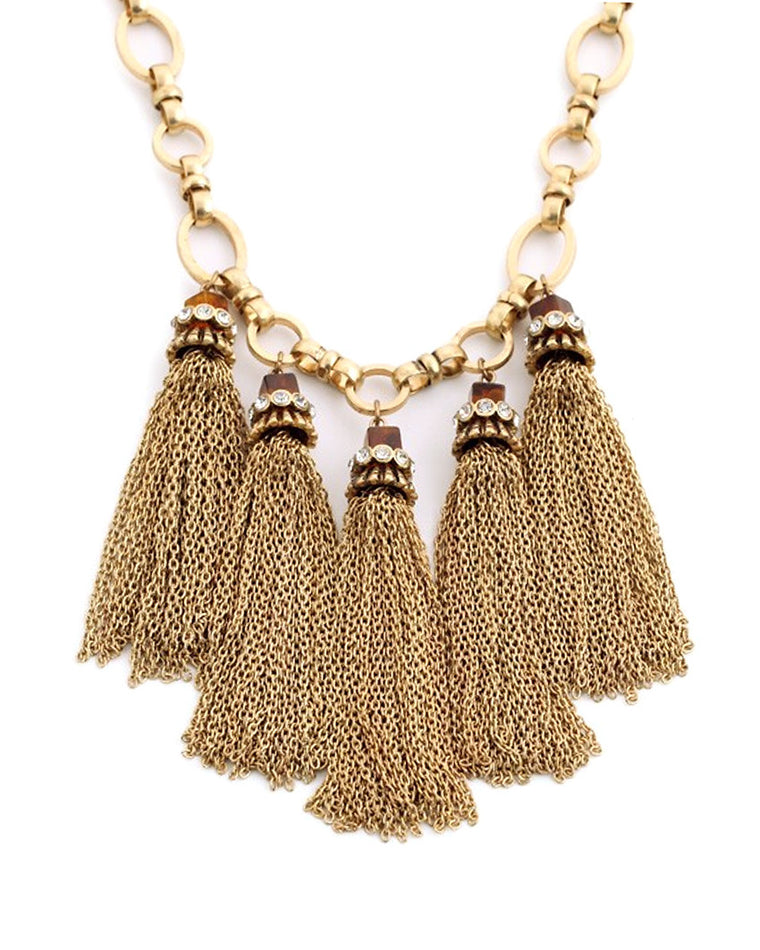 Davina Tassel Necklace