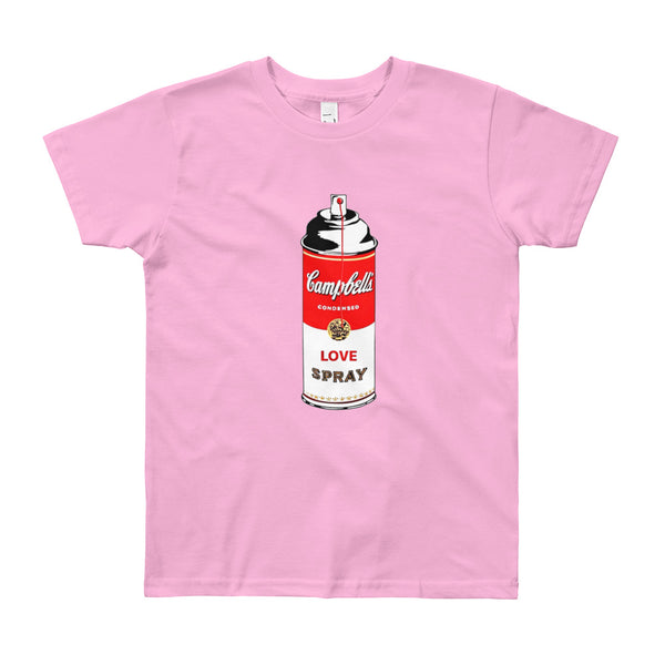 LOVE SPRAY Youth Short Sleeve T-Shirt