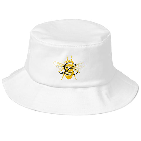 SIGNATURE BEE Old School Bucket Hat