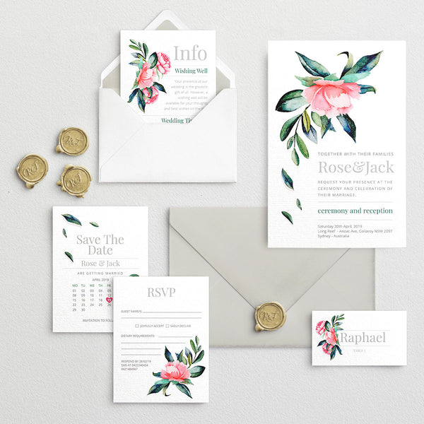 ux design network - wedding invitations - birthday invitations - custom invitations - bride and groom - rsvp - save the date - wedding stationery