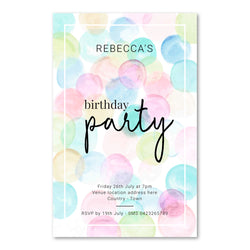 Birthday Invitation - Birthday Party Template - ux_design  network