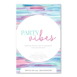 Birthday Invitation - Party Vibes Template - ux_design  network