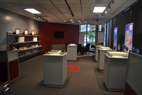 Burnett Process showroom, Florida