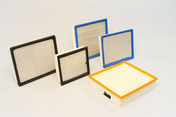 Pleated filters are highly efficient and can be custom made with pleats in depths from 1-4 inches