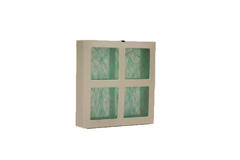 Small 4 Panel Square, Part Number BP-1810, Xerox Part Number 053E01810, Tags: Fiberglass Filters, Xerox, Xerox Nuvera, Xerox IGEN, Xerox DocuPrint, Versant, Printer, Heidelberg, Filters, Dust, DocuTech, ColorPress, Fiberglass