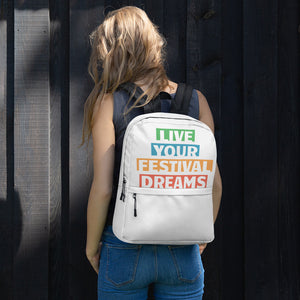 Live Your Festival Dreams Backpack