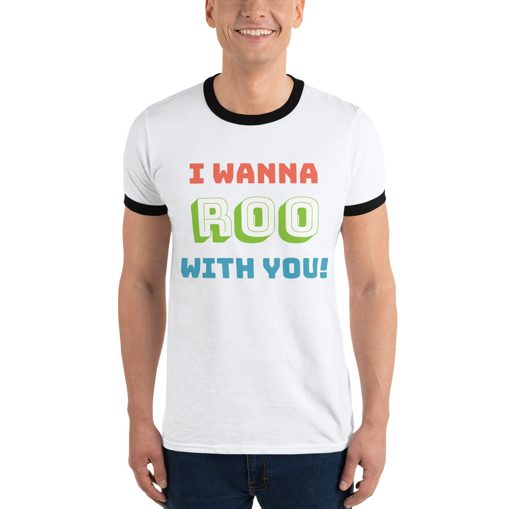 ROO With You Ringer T-Shirt