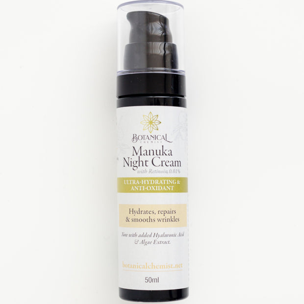 Cream: Manuka Night Cream (aka Ultra-hydrating and Anti-oxidant Night Cream)