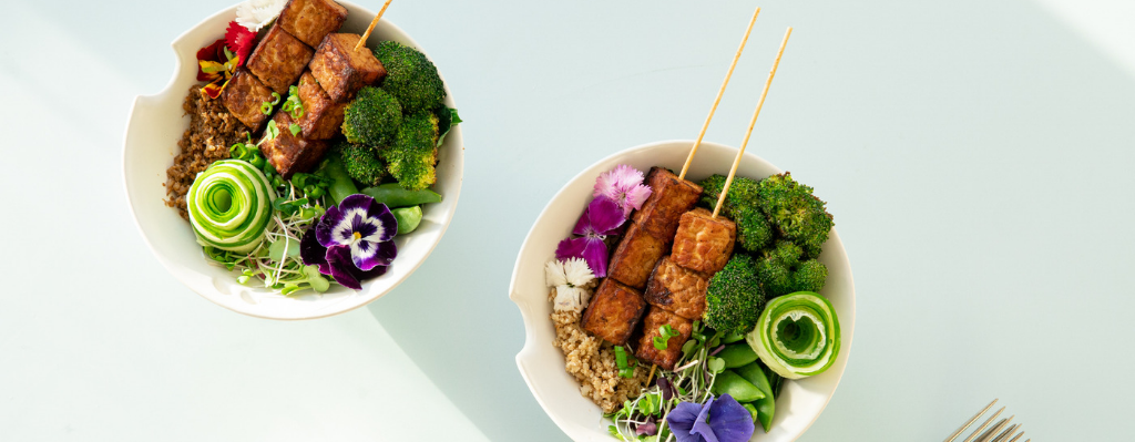 Tempeh Skewer Bowl