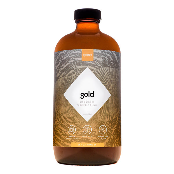 Liposomal Turmeric Supplement | Gold | Lemon Ginger Flavor