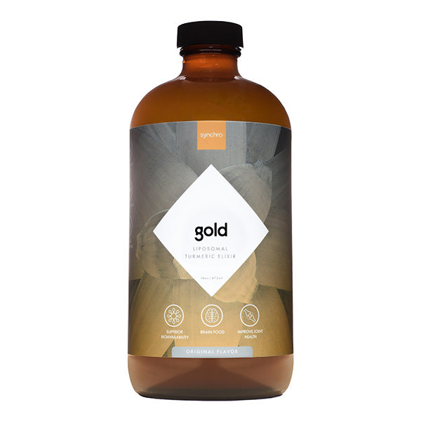 Liposomal Turmeric Supplement (Elixir) | Gold | Original Flavor