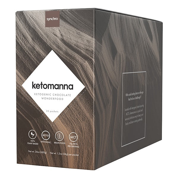 Keto Chocolate Snack | Ketomanna | 12g MCTs Per Serving