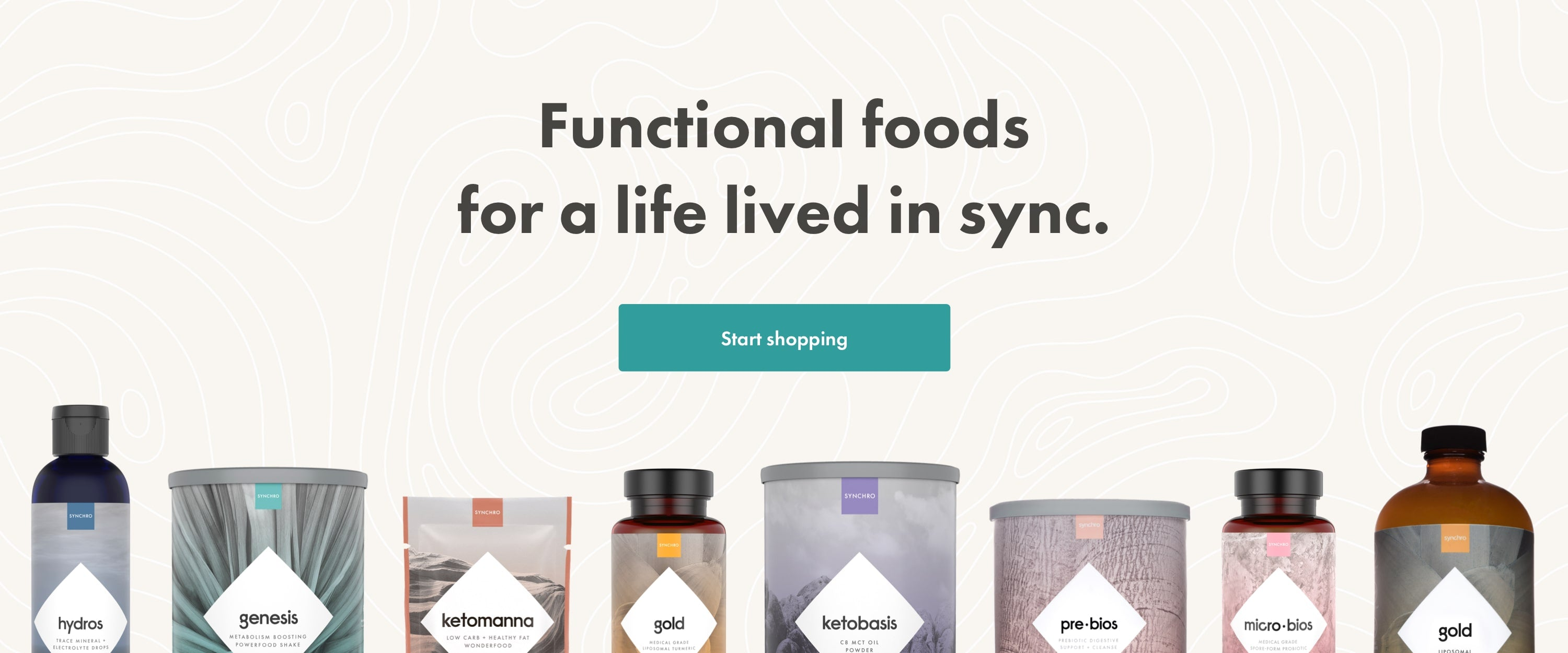 Functional foods for a life lived in sync.