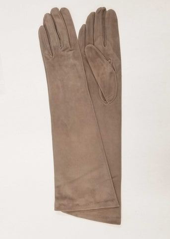 "15"" LONG SUEDE GLOVES"