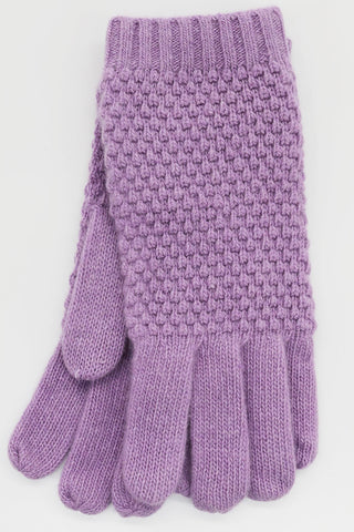POPCORN STITCH GLOVES