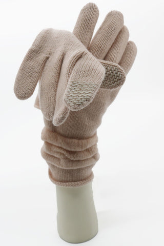 TECH GLOVES WITH RUFFLE