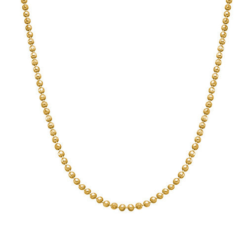 BEAD CHAIN, GOLD