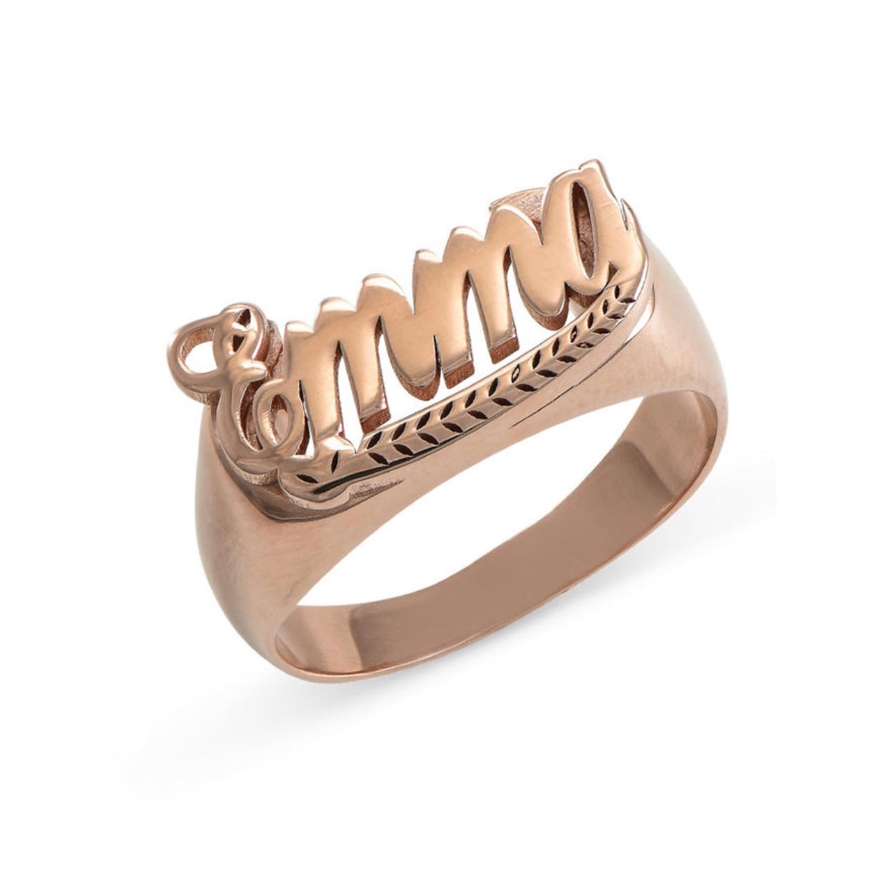 STATEMENT NAME RING, ROSE