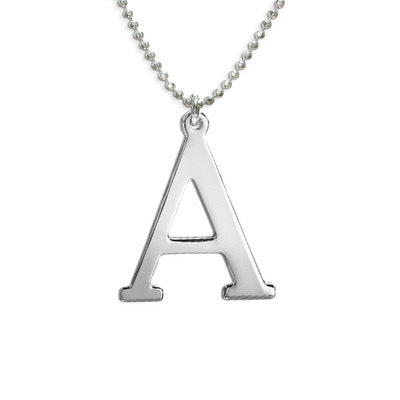 90'S INITIAL NECKLACE