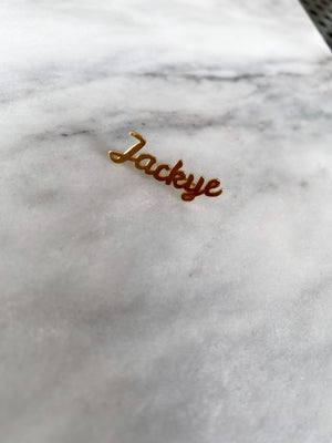 JACKYE NAME EAR CRAWLER, LEFT