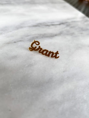 GRANT NAME EAR CRAWLER, LEFT