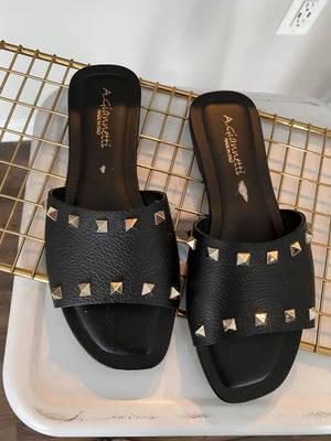 VALENTINO INSPIRED SANDALS, SIZE 8 NWOT