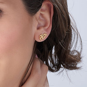 PERSONALIZED EAR CRAWLERS, GOLD