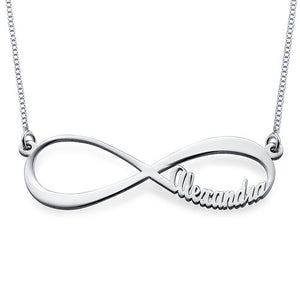 INFINITE LOVE NECKLACE, SILVER