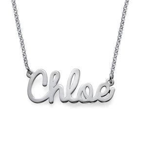 ELEANA NAME NECKLACE, SILVER