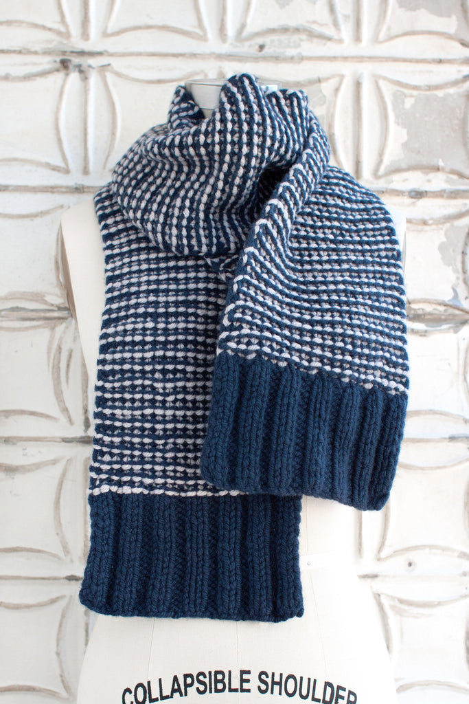 Typewriter Scarf O Wool