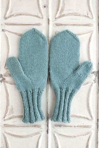 Basic Classic Worsted Mittens
