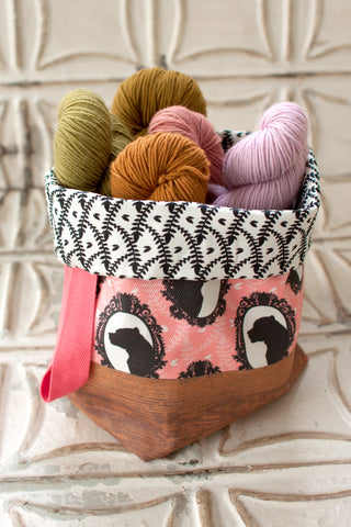 "Home Row Fiber Co ""For Animals"" Portable Yarn Bowls"