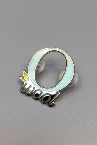 O-Wool Enamel Pin