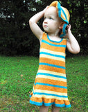 Gussied Up Toddler Dress & Hat