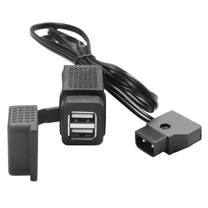 Tether Tools D-Tap to Dual USB-A Power Converter
