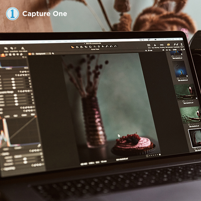 The Capture One Pro 20 for Fujifilm cameras editing software in action.