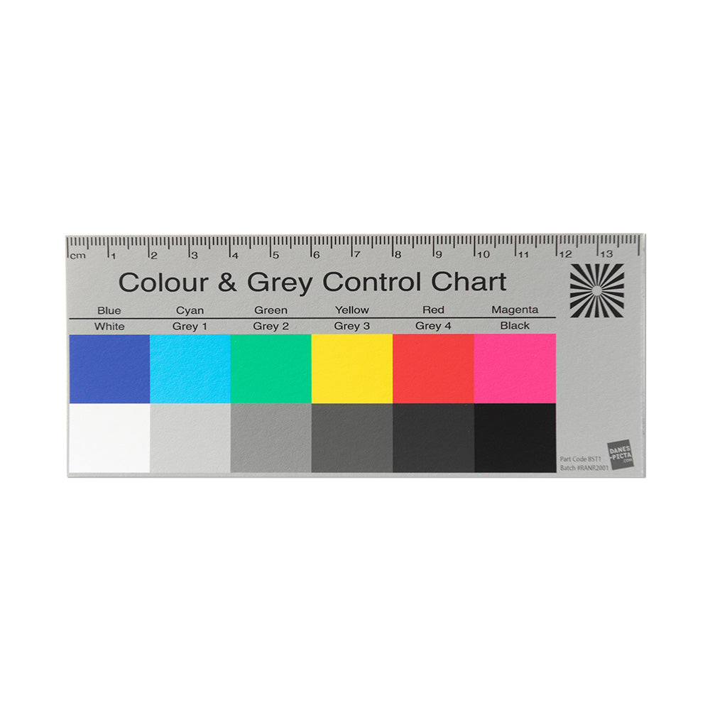 Colour & Grey Control Chart