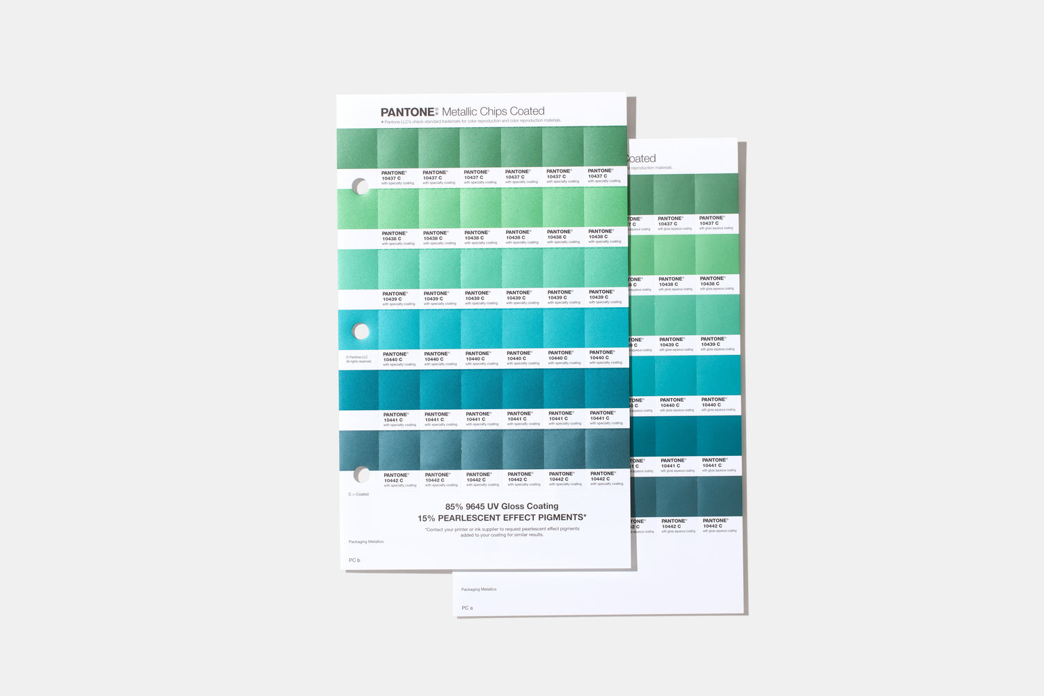 PANTONE Metallics Coated Replacement Pages