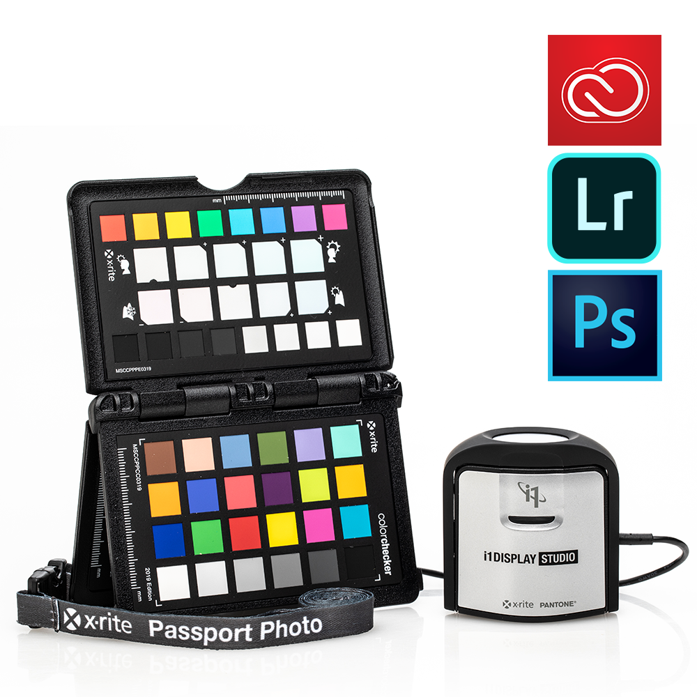 X-Rite i1 ColorChecker Photo Kit with Adobe Creative Cloud Photography Plan