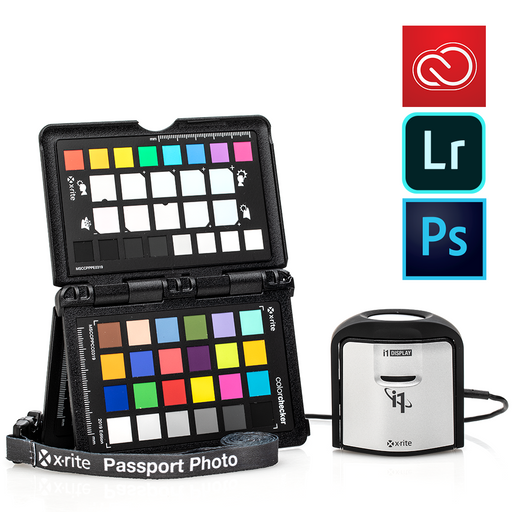 X-Rite i1 ColorChecker Pro Photo Kit with Adobe Creative Cloud Photography Plan