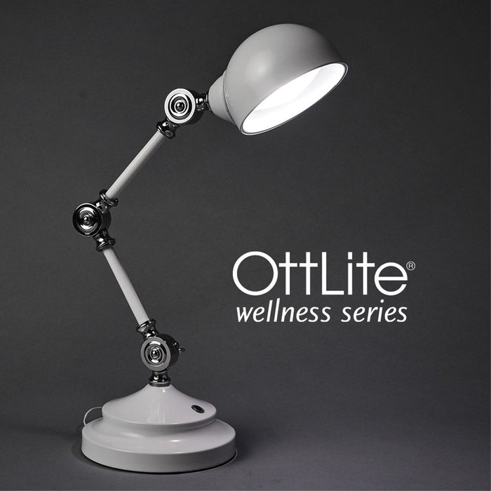 OttLite Wellness Revive LED Desk Lamp - White