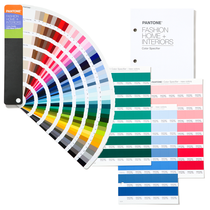 Pantone FHI Color Guide & Specifier Supplement